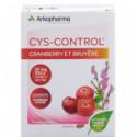 Cys-control Cranberry et Bruyère caps 20 pce