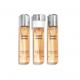 Chanel CHANCE edt recharge vapo de sac 3x20 ml