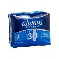 Always Ultra serviettes...