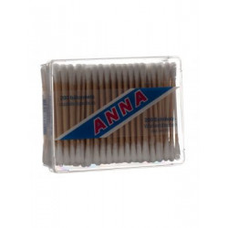 ANNA coton tiges bois 200 pce