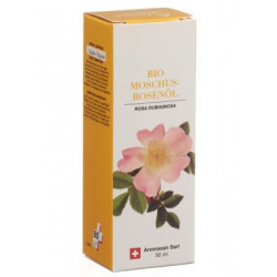 AROMASAN huile végétale rose musquée bio 50 ml