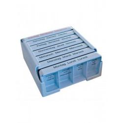 MEDI-7 pilulier semainier bleu