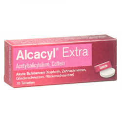 Alcacyl Extra cpr 10 pce