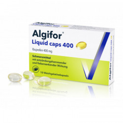 Algifor Liquid caps 400 mg...