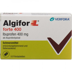 Algifor-L forte cpr pell 400 mg 10 pce