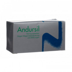 Andursil cpr croquer 100 pce