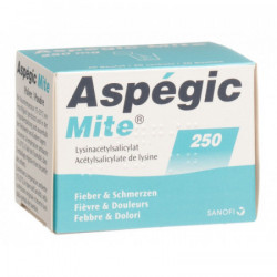 Aspégic mite pdr 250 mg...