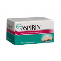 Aspirine cpr croquer 500 mg...