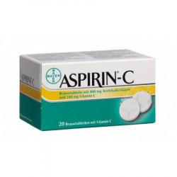 Aspirine C cpr eff 20 pce