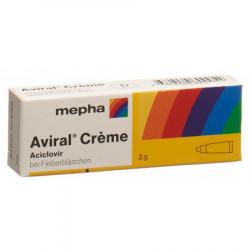 Aviral crème 2 g