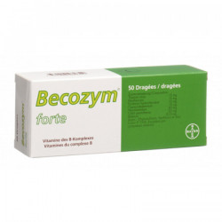 Becozym forte drag 50 pce