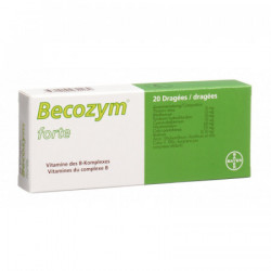 Becozym forte drag 20 pce