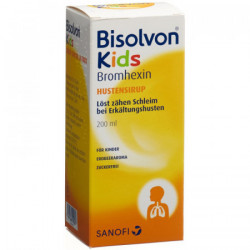 Bisolvon Kids sirop contre la toux fl 200 ml