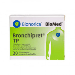 Bronchipret TP cpr pell 20 pce