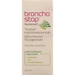 Bronchostop Sirop contre la toux 200 ml