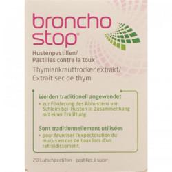 Bronchostop Pastilles contre la toux cpr sucer 20 pce