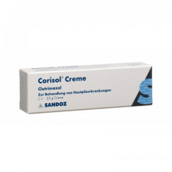Corisol crème 10 mg/g 25 g