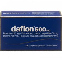 Daflon cpr pell 500 mg 120 pce