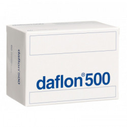 Daflon cpr pell 500 mg 60 pce