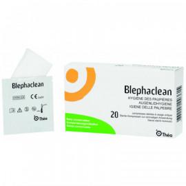 Blephaclean compresse sterilés 20 pce