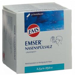 EMSER sel rinçage 50 sach...