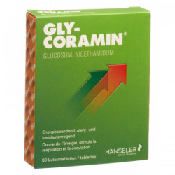 Gly-Coramin cpr sucer 125 mg 30 pce