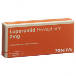 Lopéramide Helvepharm caps...
