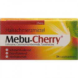 Mebu-cherry cpr sucer 24 pce