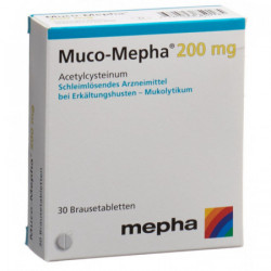 Muco-Mepha cpr eff 200 mg 30 pce
