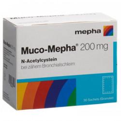 Muco-Mepha gran 200 mg sach...