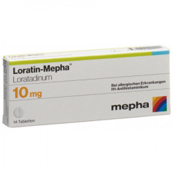 Loratin-Mepha cpr 10 mg 14 pce