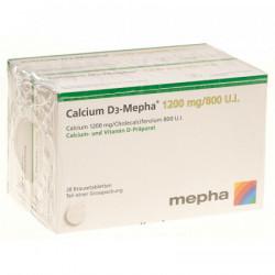 Calcium D3-Mepha cpr eff 1200/800 2 x 20 pce