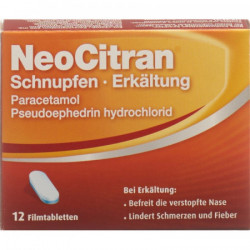NeoCitran Rhume/Refroidissement cpr pell 12 pce