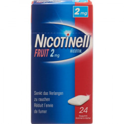 NICOTINELL Gum 2 mg fruit...