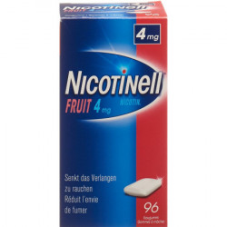 NICOTINELL Gum 4 mg fruit...