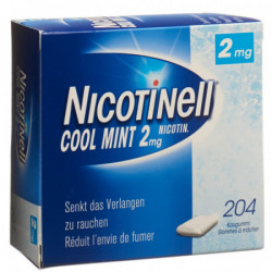 NICOTINELL Gum 2 mg cool...