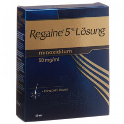 Regaine solution topique 5 % 60 ml