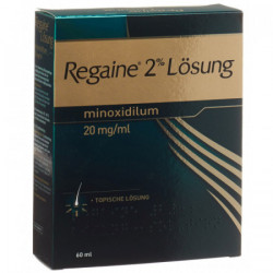 Regaine solution topique 2 % 60 ml