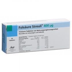 Acide folique Streuli cpr...