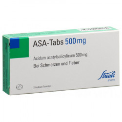 ASA-Tabs cpr 0.5 g 20 pce