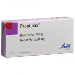 Prontolax supp 10 mg 10 pce