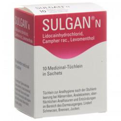 Sulgan-N lingettes...