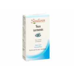 SIMILASAN yeux surmenés monodoses 20x0.4ml