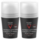 Vichy Homme déo anti-transpirant 72h duo 2x50ml roll-on