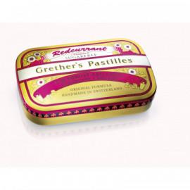 GRETHERS Redcurrant past sans sucre bte 110 g