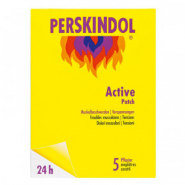 PERSKINDOL Active Patch 5 pièces