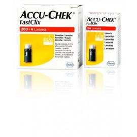 Accu-Chek FastClix lancettes 4 x 6 pce