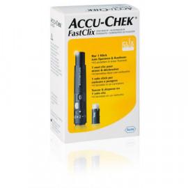 Accu-Chek FastClix Kit+6 lancettes