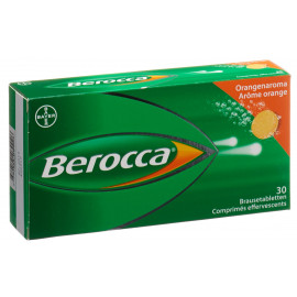 Berocca cpr effervescent 30 pce orange